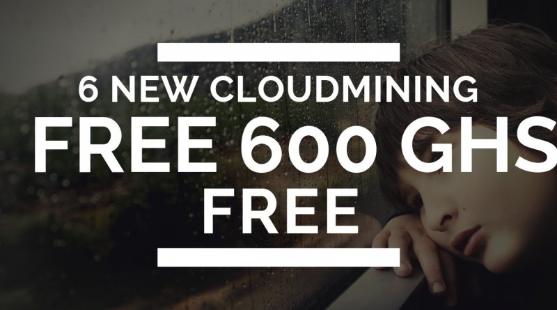 600 Ghs Free New Cloudmining Sites Free Bitcoin Mining Without -