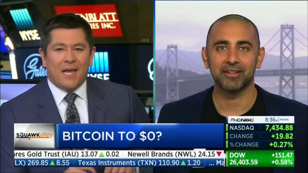 Bitcoin going to $0 CNBC - eBitcoin Times