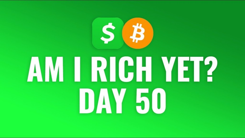 Buying $1 Bitcoin Every Day with Cash App - DAY 50 - eBitcoin Times